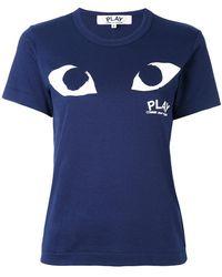 Play Comme des Garçons - Eye Print T-shirt - Lyst