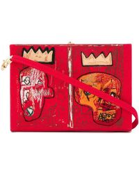 Olympia Le-Tan 'Basquiat' Schultertasche - Rot