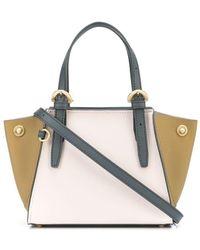 Zac Zac Posen Mini Alice Colour-block Bag - Multicolour