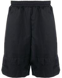 Cottweiler Knee-high Running Shorts - Black