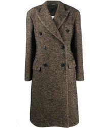 Maison Margiela - Двубортное Пальто Свободного Кроя - Lyst