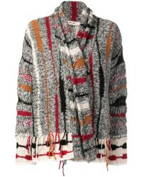 Damir Doma - Knitted Cardigan - Lyst