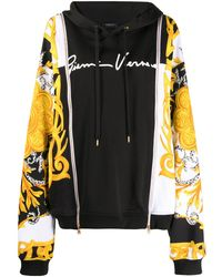 Versace Gv Signature バロック パーカー - ブラック