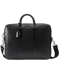 Gucci - Signature Briefcase - Lyst