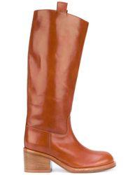 A.F.Vandevorst Mid-calf Boots - Brown