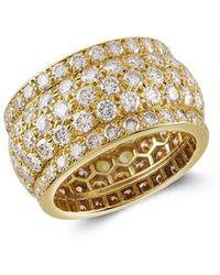 Cartier 1961 18kt Yellow Gold Present Day Diamond Ring - Metallic