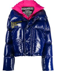 DSquared² - Two Tone Padded Jacket - Lyst