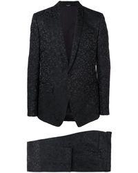Dolce & Gabbana Zweiteiliger Anzug - Schwarz