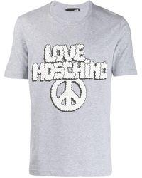 Love Moschino - ロゴ Tシャツ - Lyst