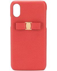 Ferragamo Vara Bow Iphone X Case - Red