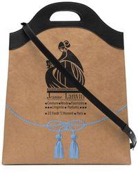 Lanvin Сумка-тоут С Логотипом Mother And Child - Многоцветный