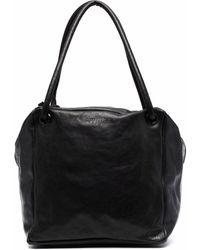 Trippen Alea Oversized Shoulder Bag - Black