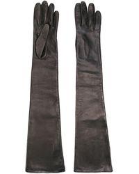 Manokhi Long Gloves - Black