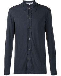 Giorgio Armani 1990s Relaxed Shirt - Blue