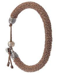 M. Cohen - Woven Bracelet - Lyst