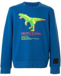 Neil Barrett - Recycle Dino スウェットシャツ - Lyst