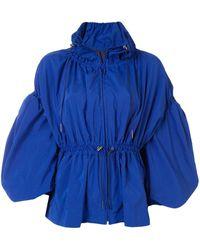 Enfold ドローストリング ジャケット - ブルー