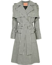 Maggie Marilyn - Gingham Trenchcoat - Lyst