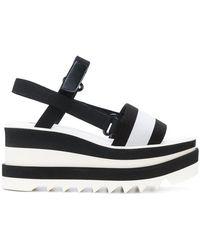 Stella McCartney - Elyse Platform Slingback Sandals - Lyst