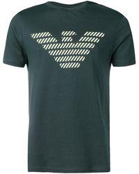 Emporio Armani ロゴ Tシャツ - グリーン