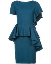 Rubin Singer - Asymmetric Ruffle Dress - Lyst
