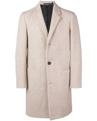 Theory - Single Breasted Coat - Lyst