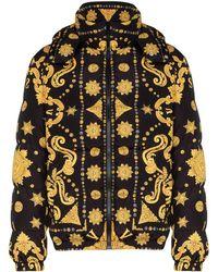 Versace Donsjas Met Barokprint - Zwart