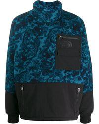 The North Face Sweat oversize à empiècement contrastant - Bleu