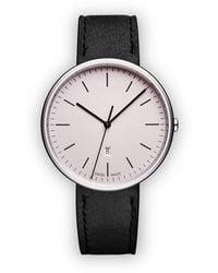 Uniform Wares M38 Date Horloge - Metallic