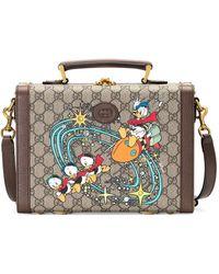 Gucci - X Disney 'donald Duck' ポーチ - Lyst