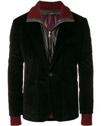 Dolce & Gabbana コーデュロイジャケット - ブラック