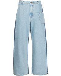 McQ ワイドジーンズ - ブルー
