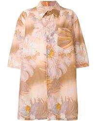 Maison Margiela - フローラル オーバーサイズシャツ - Lyst