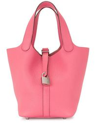 Hermès 2020 Pre-owned Picotin Lock Pm Tote Bag - Pink