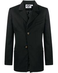 Telfar テーラード シングルジャケット - ブラック
