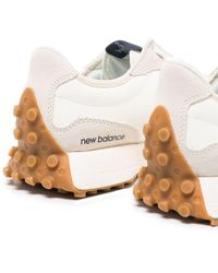 New Balance 327 Lace-up Sneakers - White