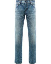 Mastercraft Union - Fade Wash Skinny Jeans - Lyst