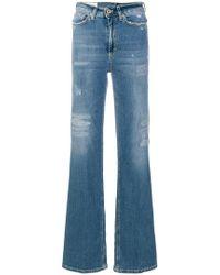 Dondup - Ausgestellte Distressed-Jeans - Lyst