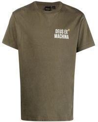 Deus Ex Machina ロゴ Tシャツ - グリーン
