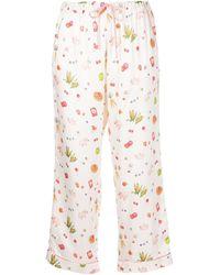 Morgan Lane Pantalones con estampado Petal Cherry Tree Farm - Multicolor