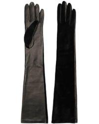 Manokhi - Long Length Gloves - Lyst