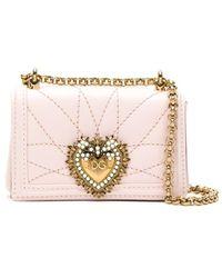 Dolce & Gabbana - Devotion バッグ ミニ - Lyst