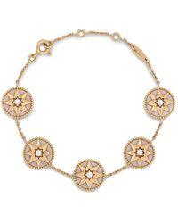 Dior Pre-owned Rose Des Vents Bracelet - Metallic