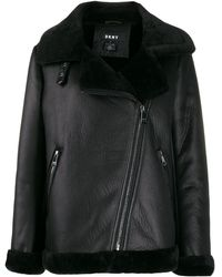 DKNY オーバーサイズ ジャケット - ブラック