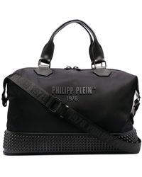 Philipp Plein Bolso de viaje mediano - Negro