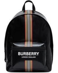 Burberry - Sac à dos à rayures Icon - Lyst