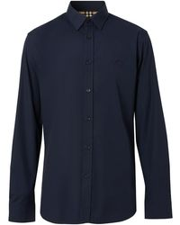 Burberry Slim-fit Shirt - Blue