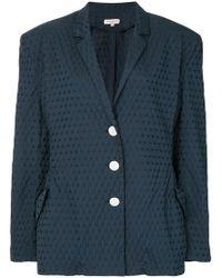 Natasha Zinko - Textured Jacquard Jacket - Lyst