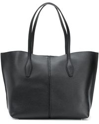 Tod's Mittelgroße 'Joy' Handtasche - Schwarz