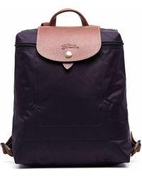 Longchamp Рюкзак Le Pliage - Пурпурный